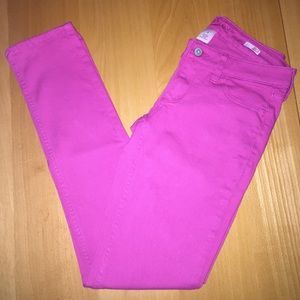 Youth girls super skinny jeans size 5(not toddler)